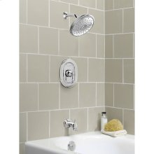 Quentin Water-Saving Bathtub and Shower Trim with Pressure Balance Cartridge  American Standard - Polished Chrome