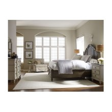 Brookhaven Panel Bed w/Storage FB, CA King 6/0
