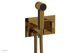 DIAMA Wall Mounted Bidet, Blade Handle 184-64 - French Brass Product Image