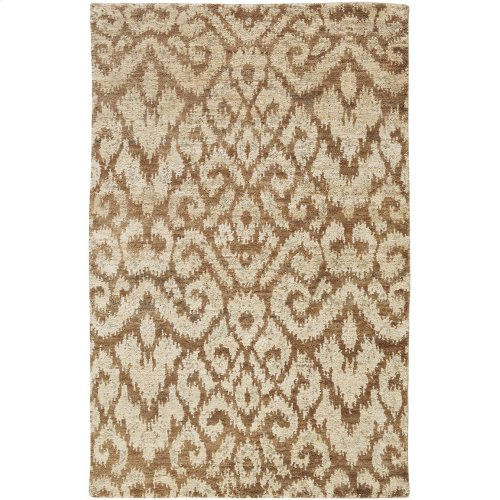 Thompson Ikat Wheat Hand Knotted Rugs