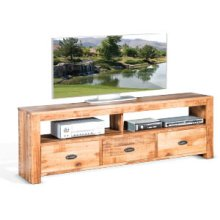 """74"""" TV Console w/ 3 Drawers"""