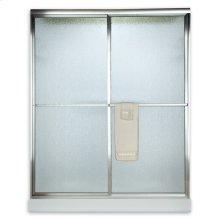 """Prestige Framed Sliding Shower Door, 71-1/2"""" - Brushed Nickel"""