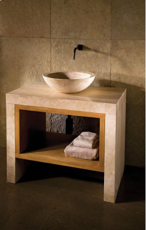 Siena Lastra Vanity Travertino Romano Product Image
