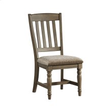 Balboa Park Slat Back Chair w/Cushion Seat