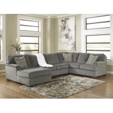 Loric - Smoke 3 Piece Sectional