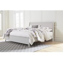 Jorstad - Gray 2 Piece Bed Set (Cal King)