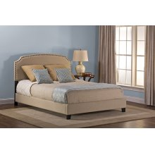 Lani Queen Bed - Linen Beige