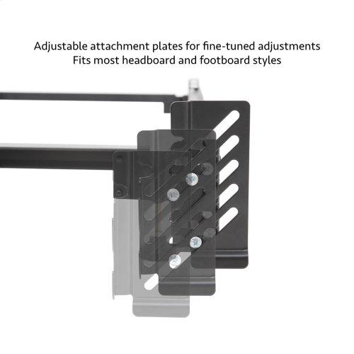 Steelock® Adaptable Hook-In Headboard Footboard Bed Frame Twin