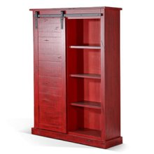 Bookcase w/ Barn Door
