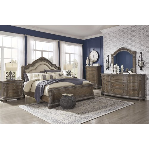 Charmond - Brown 3 Piece Bed Set (King)