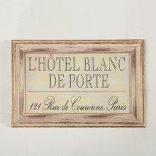 Peinture L'Hotel BlancArt Photo