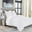 3pc Queen Duvet Set White Product Image