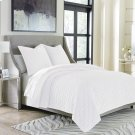 3pc Queen Duvet Set White Product Image