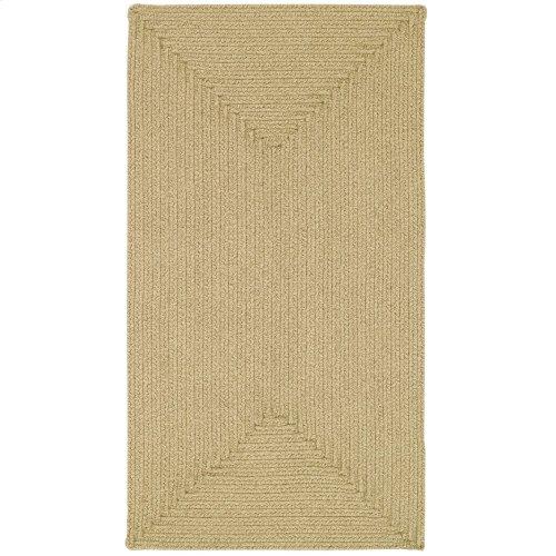 Heathered Beige Braided Rugs (Custom)