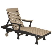 Casual Back Chaise Lounge