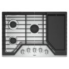 30-inch Gas Cooktop with Griddle Product Image
