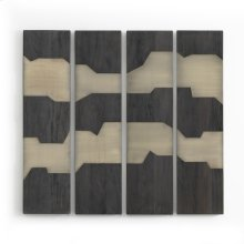 Antigua Layered Wall Panel, Set of 4