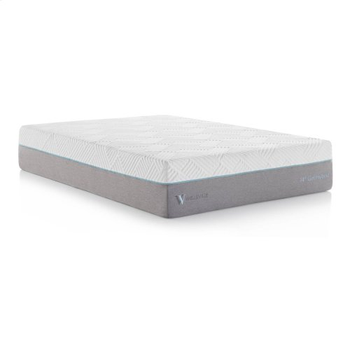 Wellsville 14 Inch Gel Hybrid Mattress King