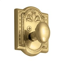 Nostalgic - Single Cylinder Deadbolt Keyed Differently - Meadows in Unlacquered Brass
