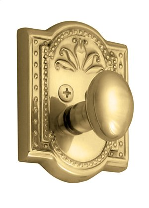 Nostalgic - Single Cylinder Deadbolt Keyed Differently - Meadows in Unlacquered Brass Product Image