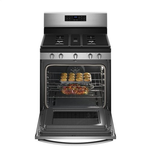 5.0 cu. ft. Whirlpool® gas convection oven with Frozen Bake technology