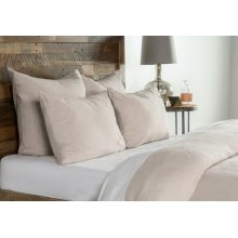 Heirloom Natural Duvet 6Pc King Set
