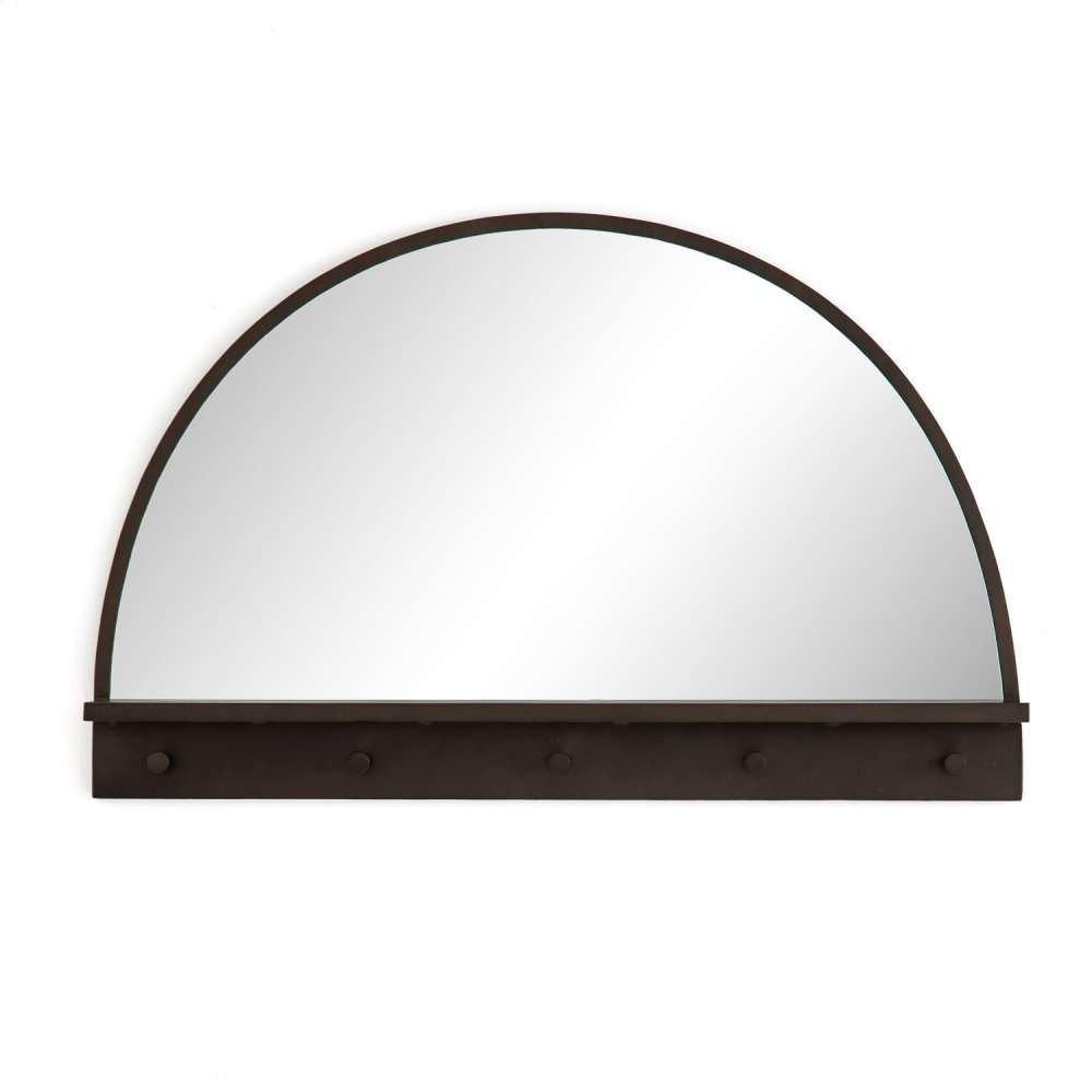 Wellington Entry Mirror-dark Relic Brass