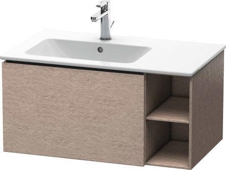 Vanity Unit Wall-mounted, Cashmere Oak