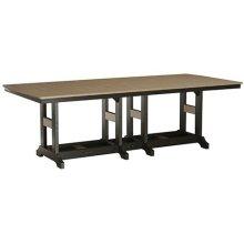 """44"""" x 96"""" Rectangular Bar Table"""