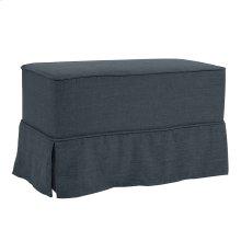 Universal Bench Linen Slub Indigo - Skirted