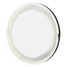 Round Wall Mirror W/ LED Lights