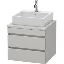 Durastyle Vanity Unit For Console, Concrete Gray Matte (decor)