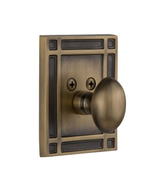 Nostalgic - Single Cylinder Deadbolt Keyed Differently - Mission in Antique Brass Product Image