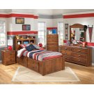 Barchan - Medium Brown 6 Piece Bedroom Set Product Image