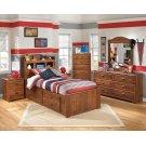 Barchan - Medium Brown 6 Piece Bedroom Set Product Image