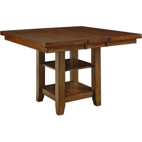 Canyon High Top Table in Pecan