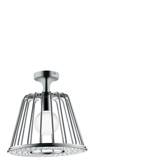 Chrome LampShower 275 1jet with ceiling connector Product Image
