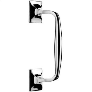 Polished Nickel Pull handle, concealed fix