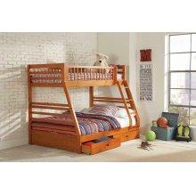 Ashton Honey Twin-over-full Bunk Bed