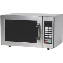 1000 Watt Commercial Microwave Oven with 10 Programmable Memory NE-1054F