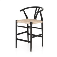 Counter Stool Size Muestra Bar + Counter Stool - Black Teak