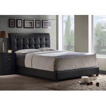 Lusso Full Bed Set - Black