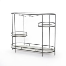 Harden Bar Console-distress Iron