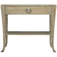 Rustic Patina Nightstand in Sand (387)