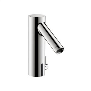 Chrome Electronic basin mixer 90 with temperature control battery-operated Product Image