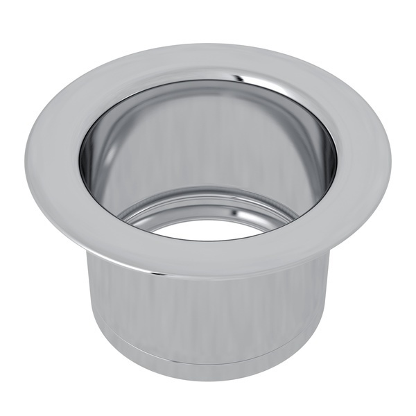 Polished Chrome Extended Disposal Flange
