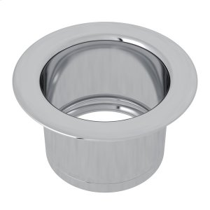 Polished Chrome Extended Disposal Flange Product Image