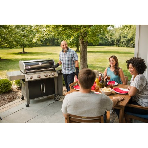 GENESIS II E-435 Gas Grill Black LP