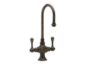 Kitchen & Bar Single Hole Bar Faucet K8200 - Polished Brass Product Image