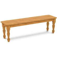 72'' Farmhouse Bench